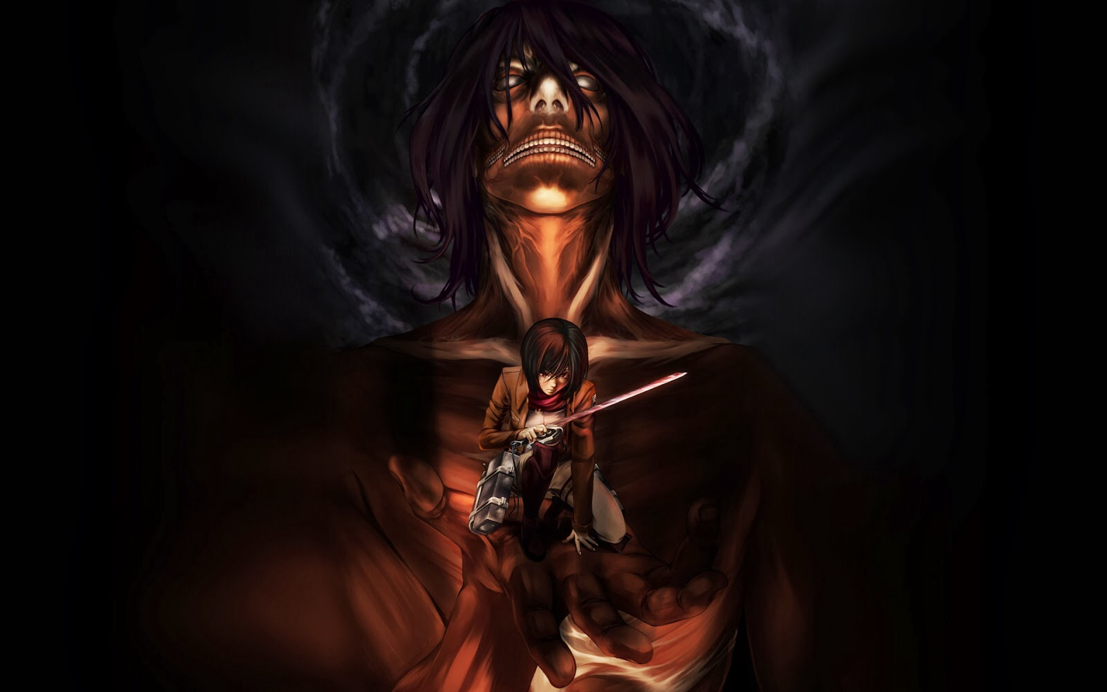 Attack On Titan Wallpaper Eren 2233109 Hd Wallpaper Backgrounds Download