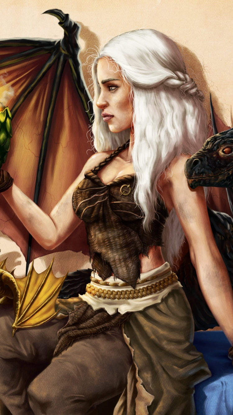 Mother Of Dragons Hd , HD Wallpaper & Backgrounds