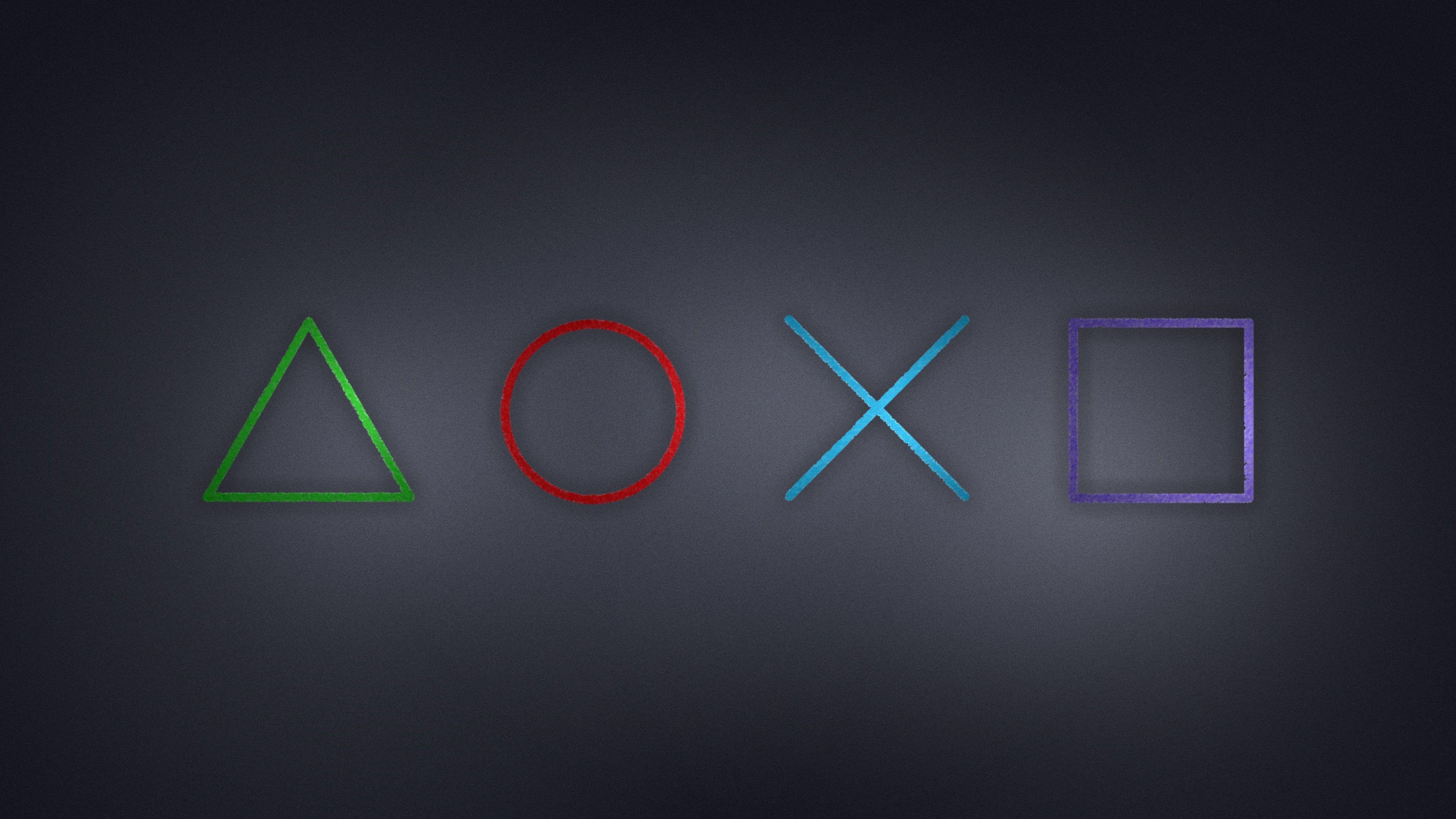 Playstation 4 Logo 4k , HD Wallpaper & Backgrounds