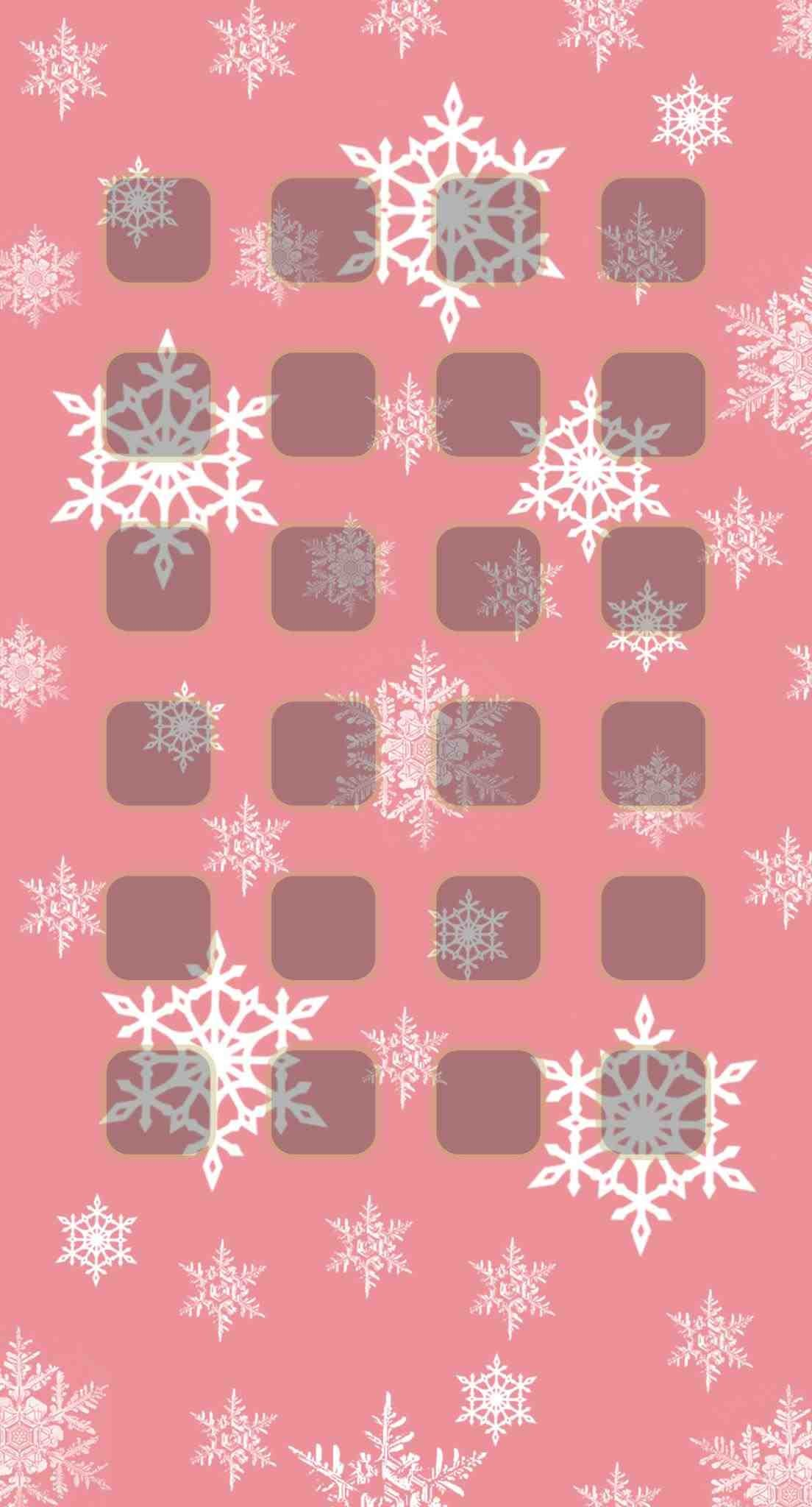 Pink Christmas Iphone Background 2238598 Hd Wallpaper