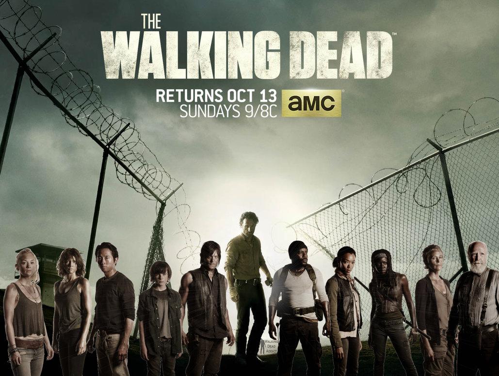 Walking Dead Season 4 Cast Poster 2238770 Hd Wallpaper
