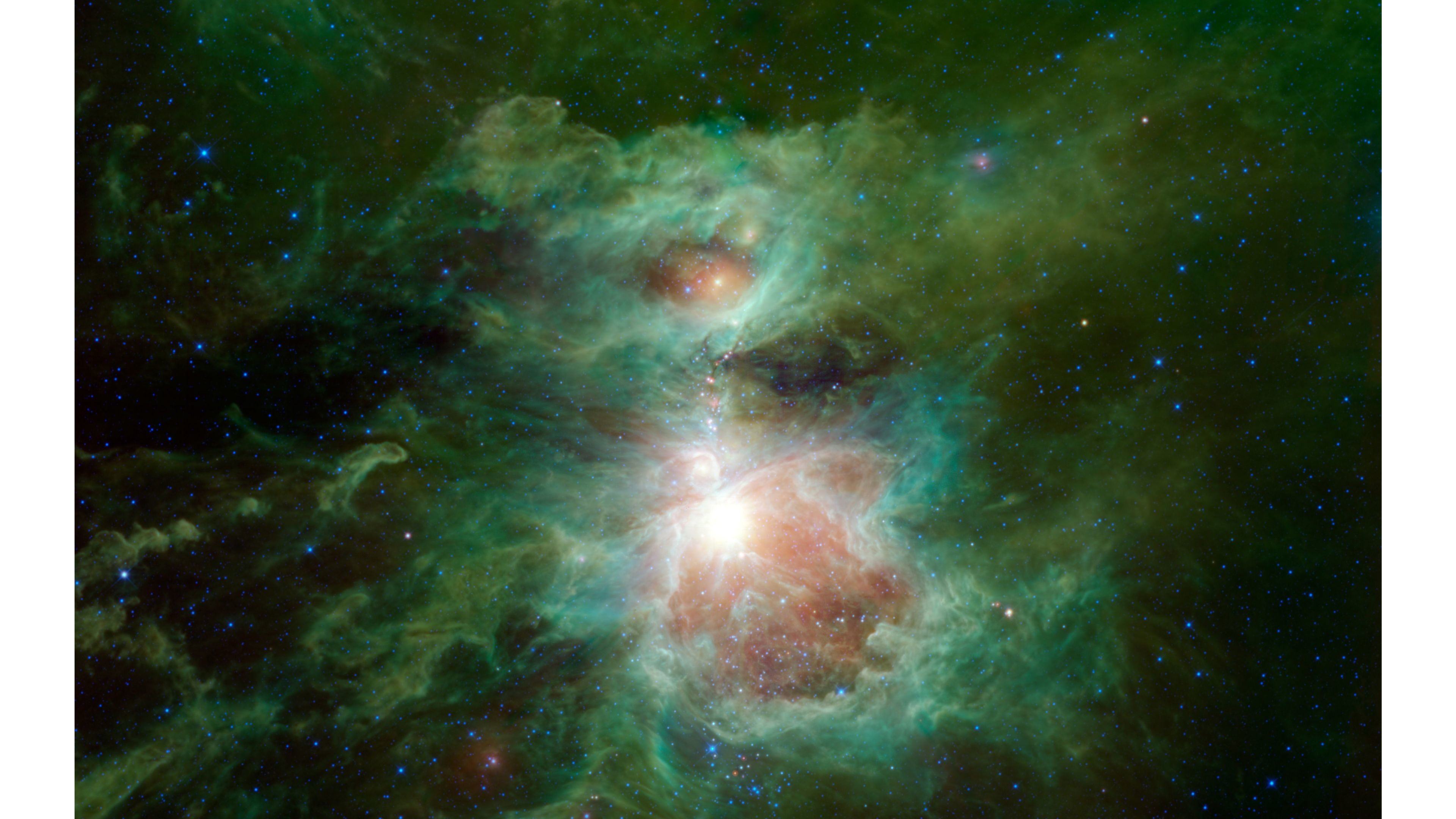 Orion Nebula Infrared , HD Wallpaper & Backgrounds