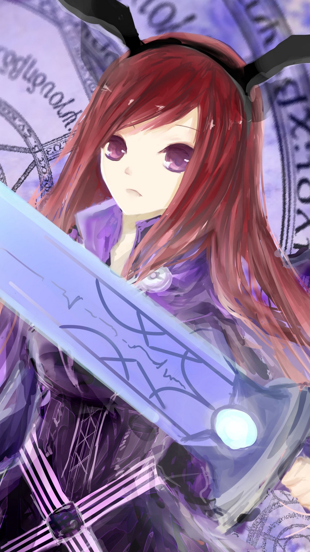 Erza Fairy Tail Phone , HD Wallpaper & Backgrounds