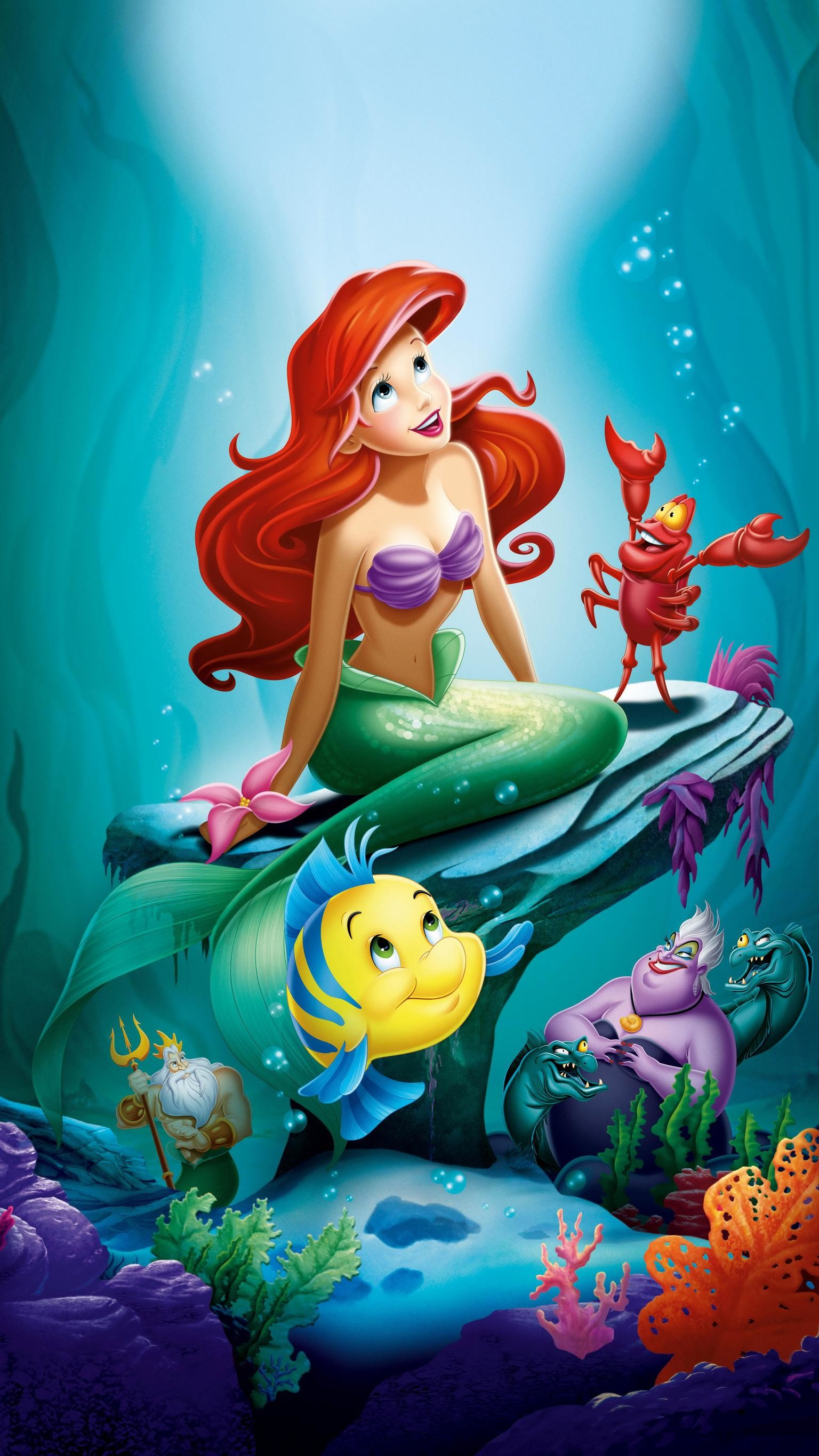 Poster The Little Mermaid 1989 2246916 Hd Wallpaper