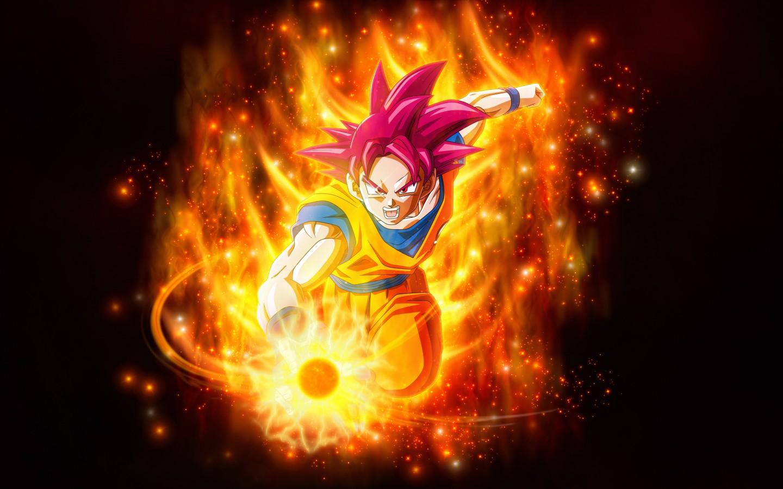 Goku Super Saiyan God 2247920 Hd Wallpaper Backgrounds Download