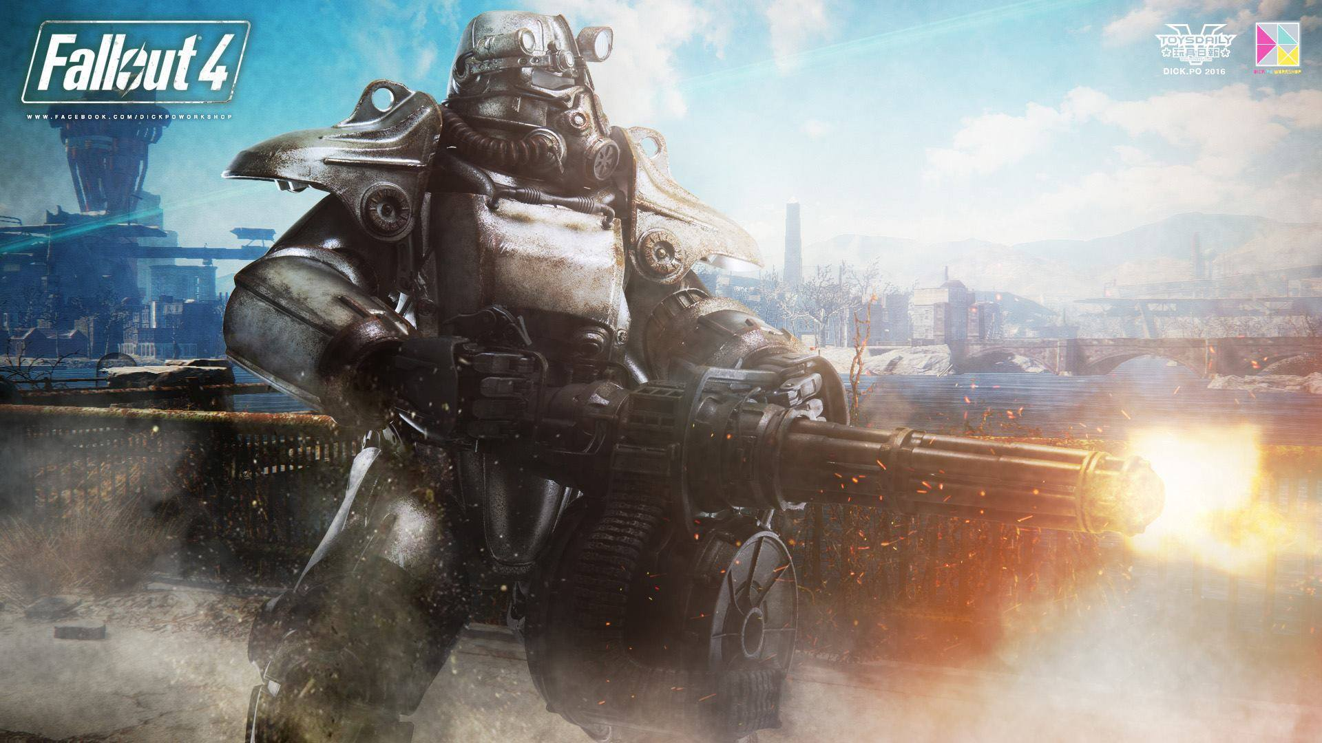 Fallout 4 Wallpaper Fallout Power Armor T 45 Art 2249949 Hd