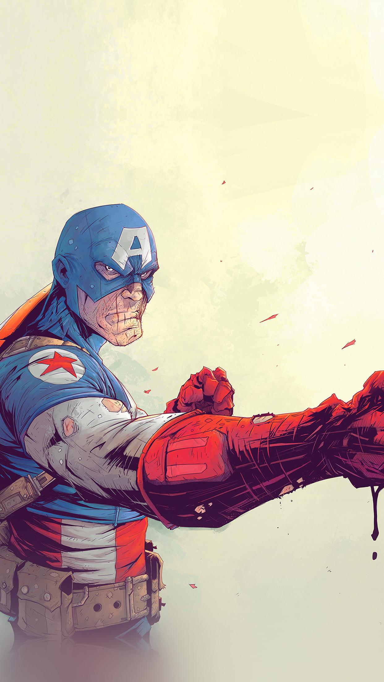Captain America Anime Art 2251332 Hd Wallpaper