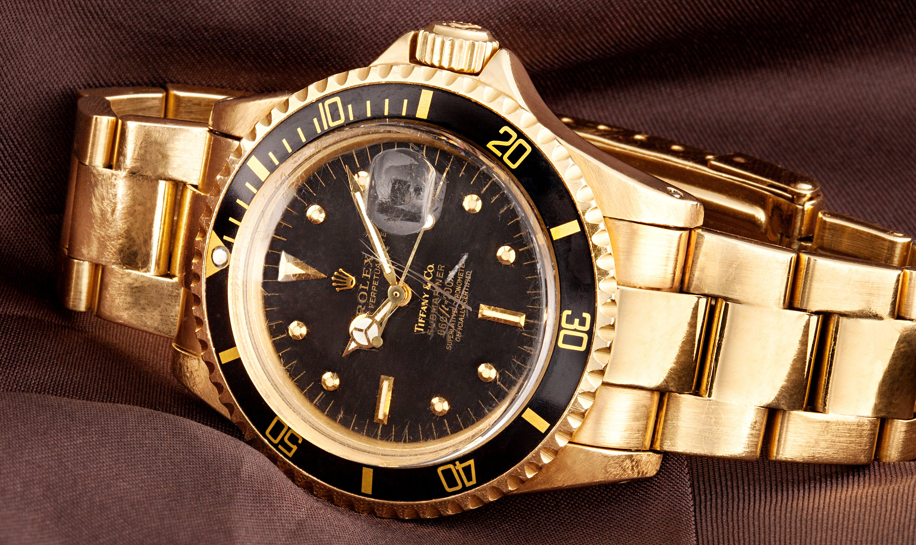 Rolex Submariner 1680 Gold 2254575 Hd Wallpaper