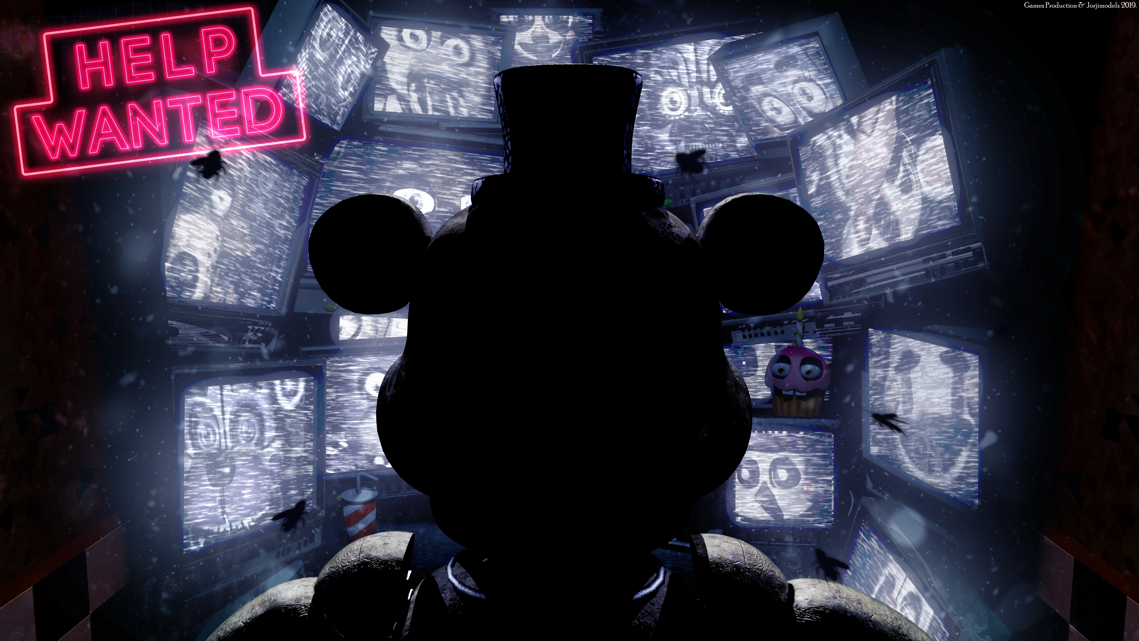 Fnaf Help Wanted 2256295 Hd Wallpaper Backgrounds