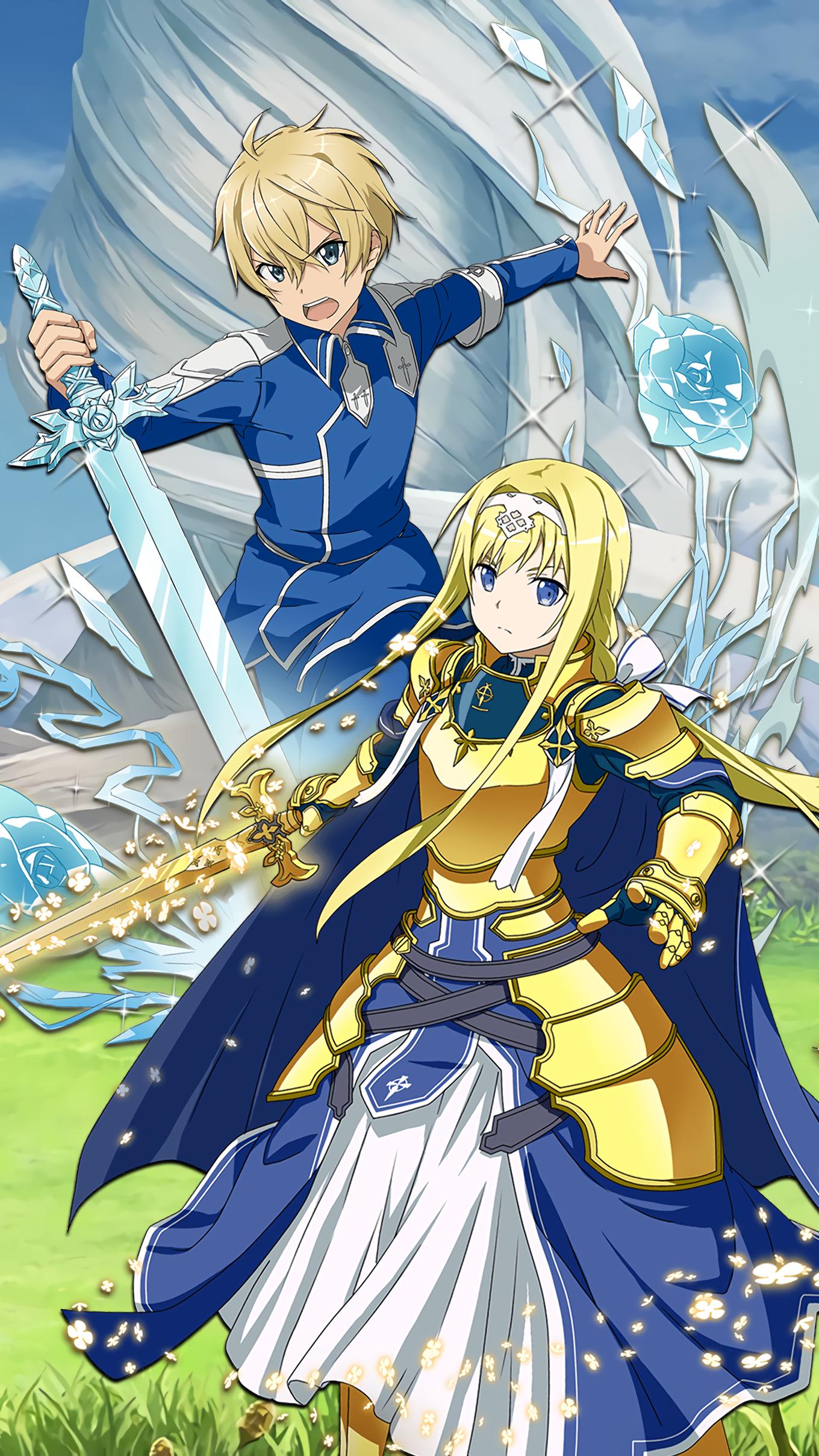 Sword Art Online Alicization Wallpaper Mobile 2257063