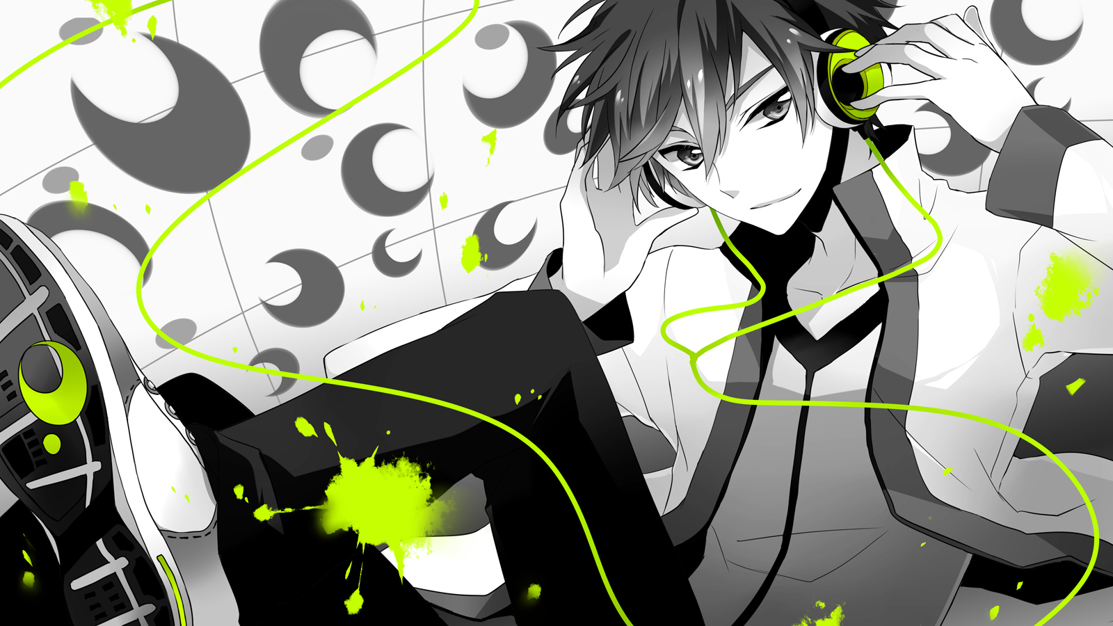 Anime Gamer Wallpaper Boy 2257563 Hd Wallpaper Backgrounds Download