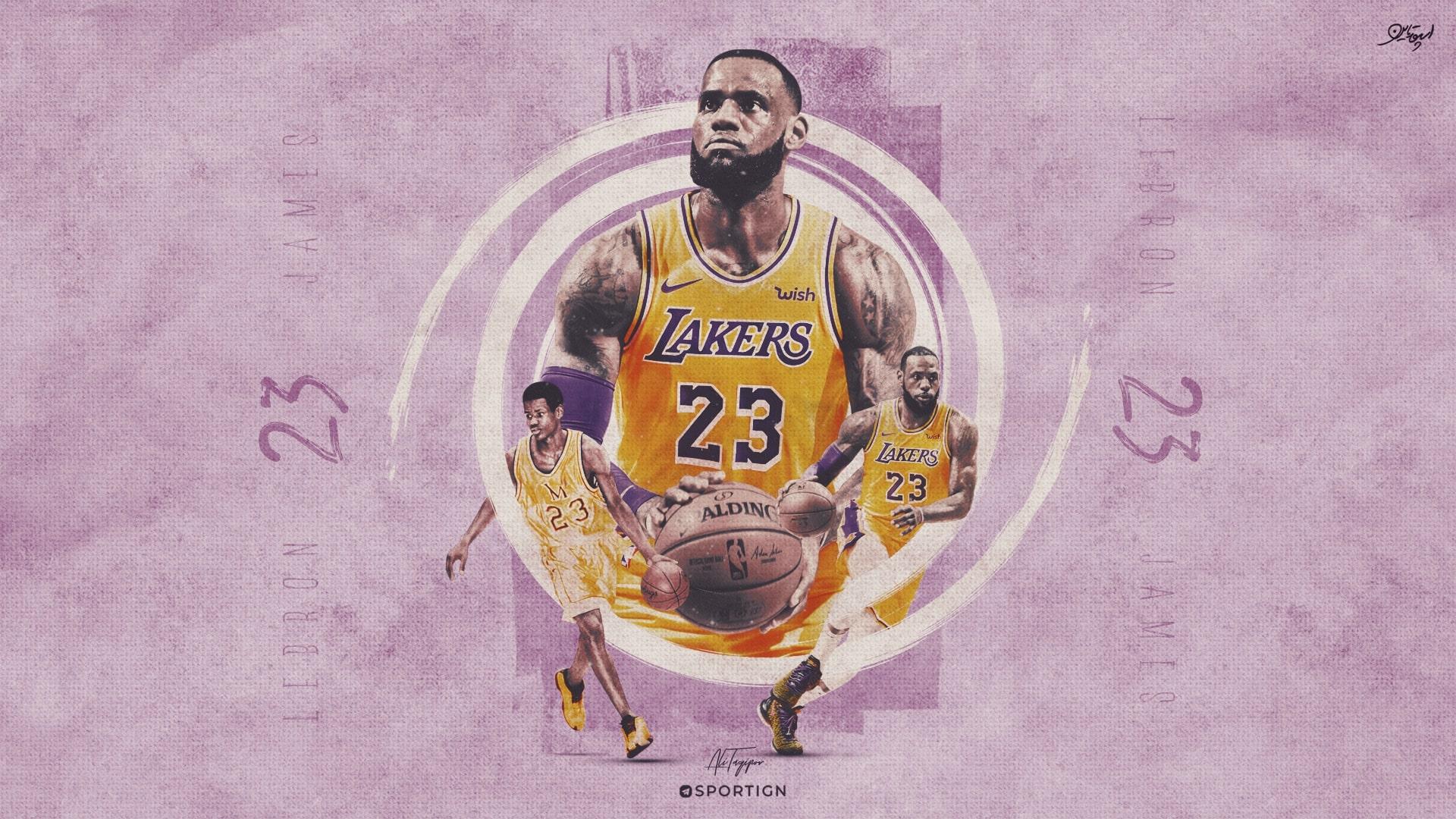 Lebron James Desktop Wallpaper Lakers 2259451 Hd Wallpaper Backgrounds Download