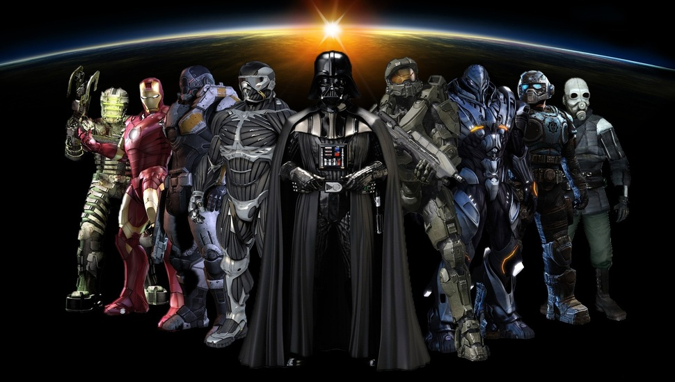 Mass Effect Star Wars Halo , HD Wallpaper & Backgrounds