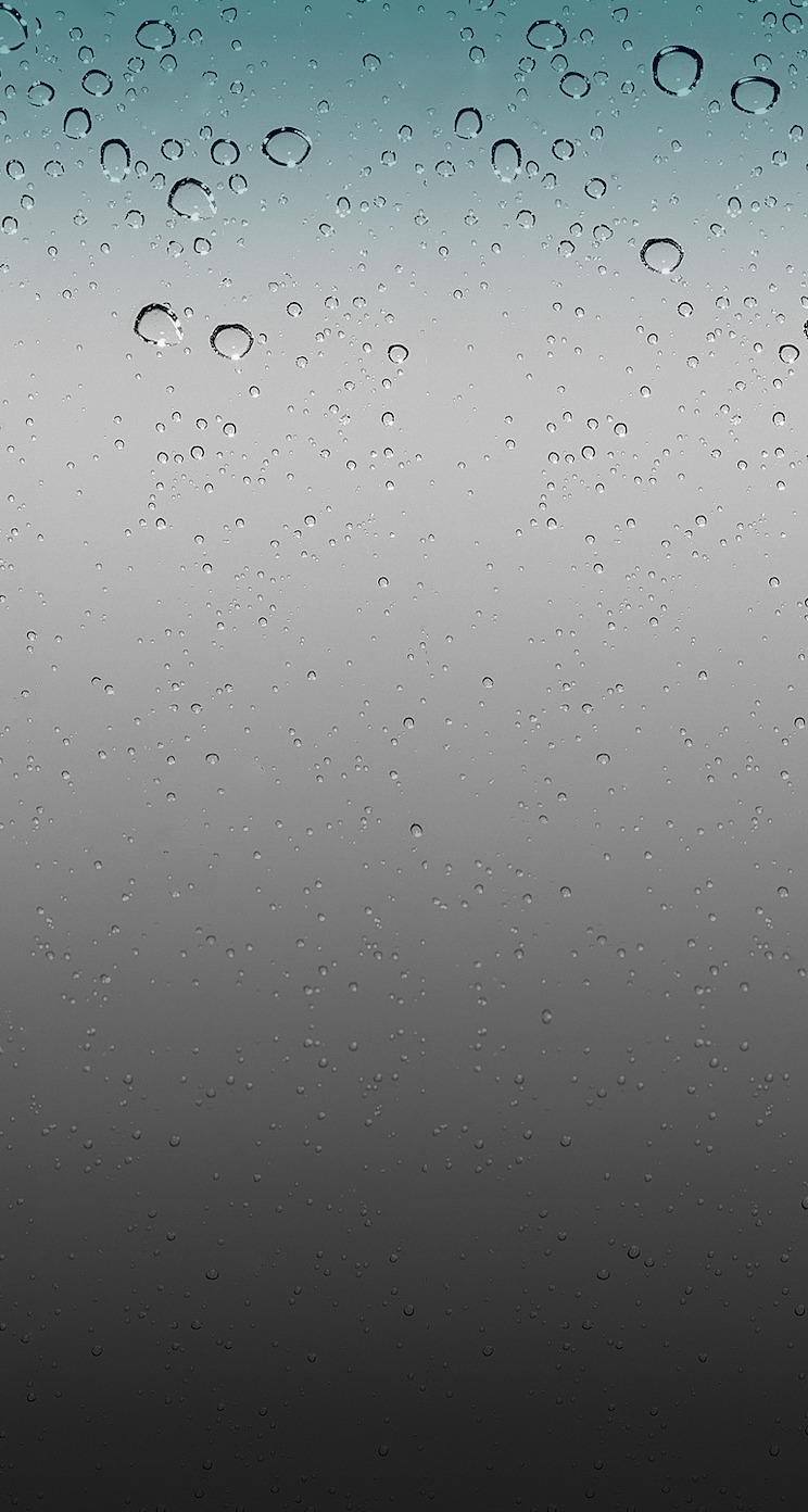 Ios Wallpaper Rain , HD Wallpaper & Backgrounds
