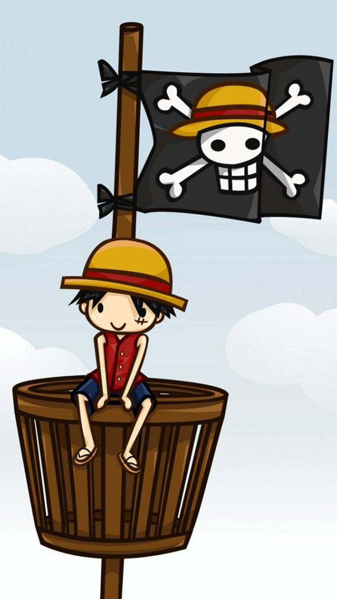 Cute Luffy One Piece 2267281 Hd Wallpaper Backgrounds Download