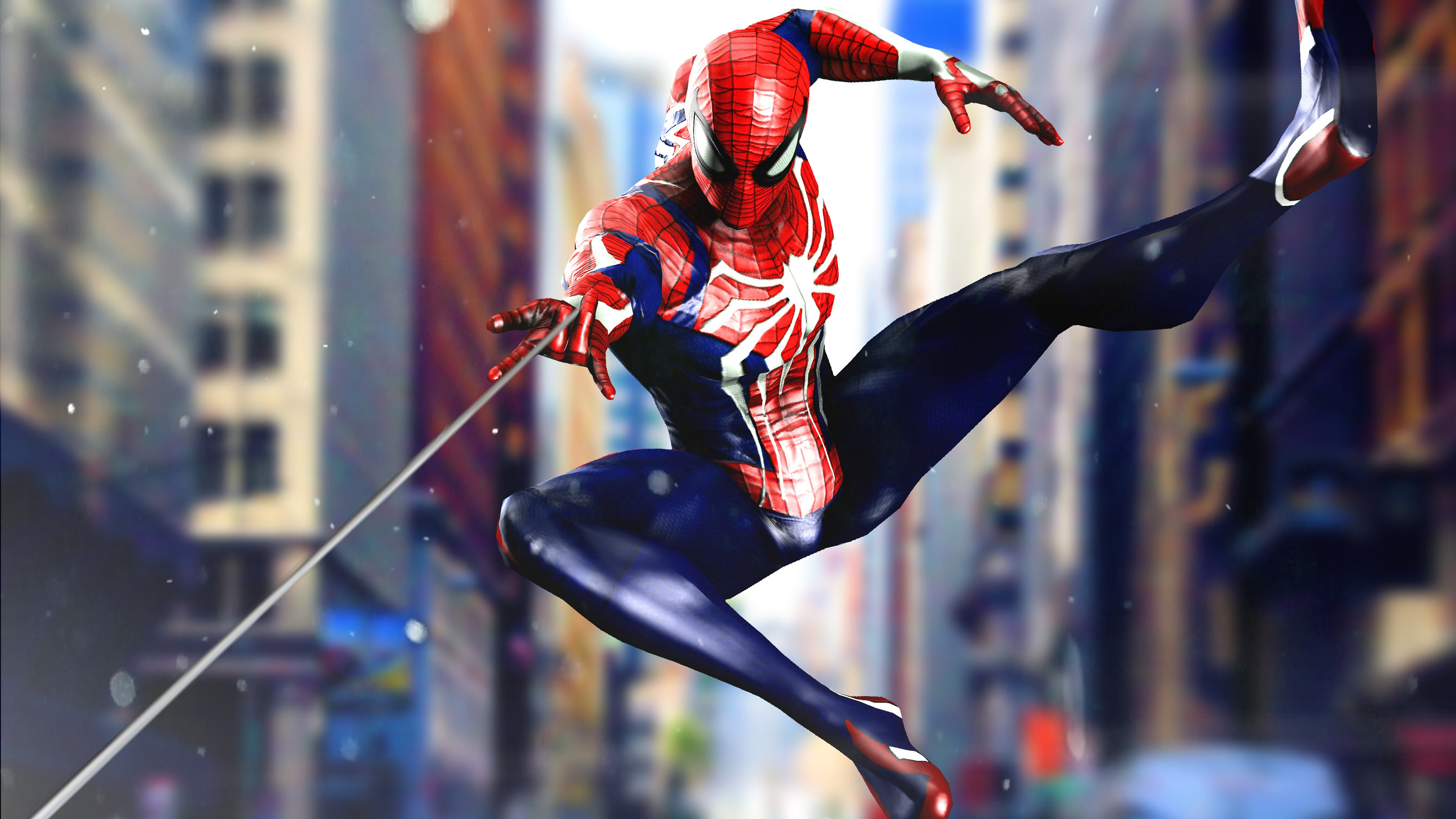 Marvel Spiderman Ps4 4k 2274162 Hd Wallpaper