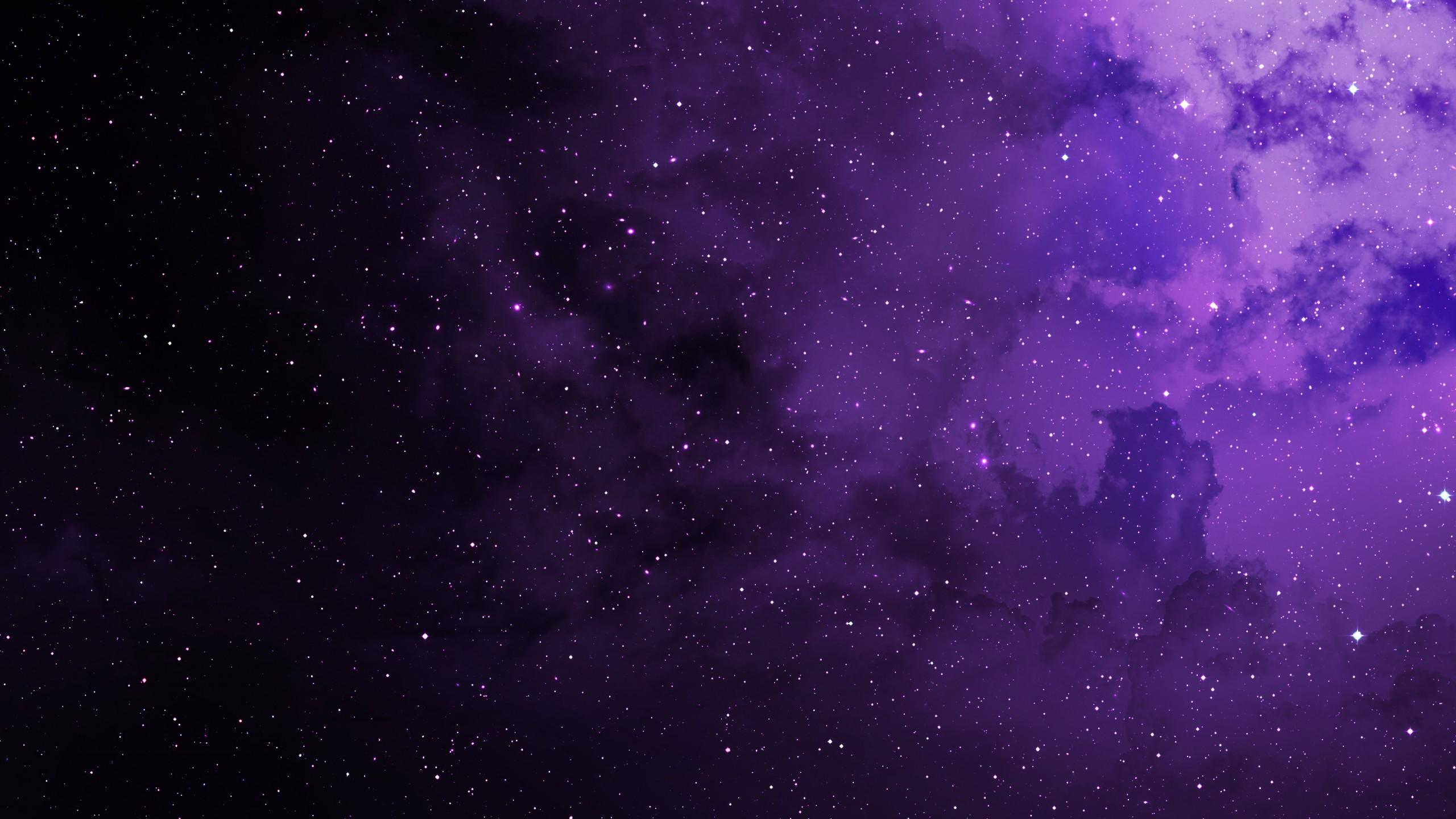 Purple Space Wallpaper Hd 2275511 Hd Wallpaper