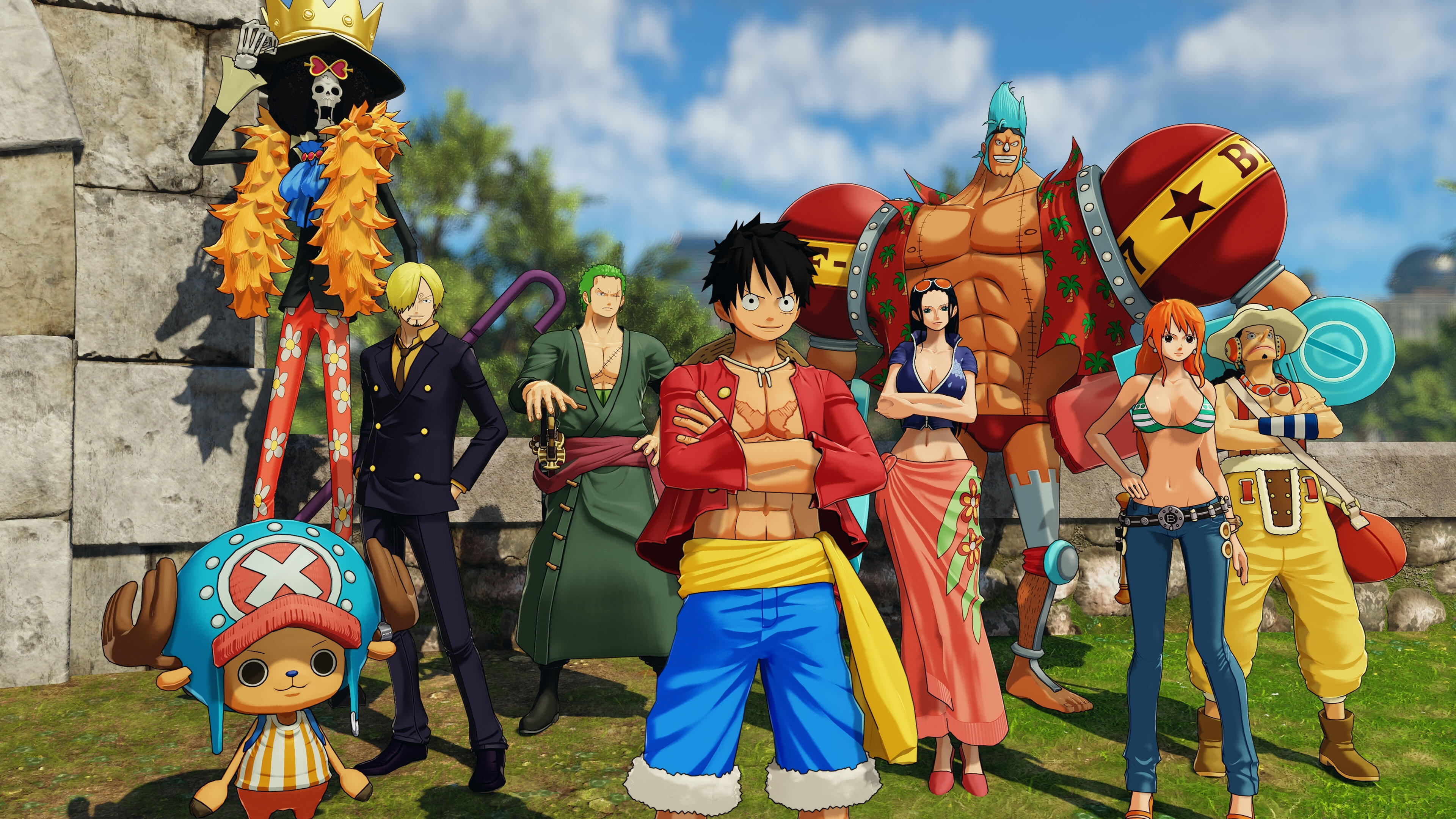 One Piece World Seeker Nami 2287628 Hd Wallpaper