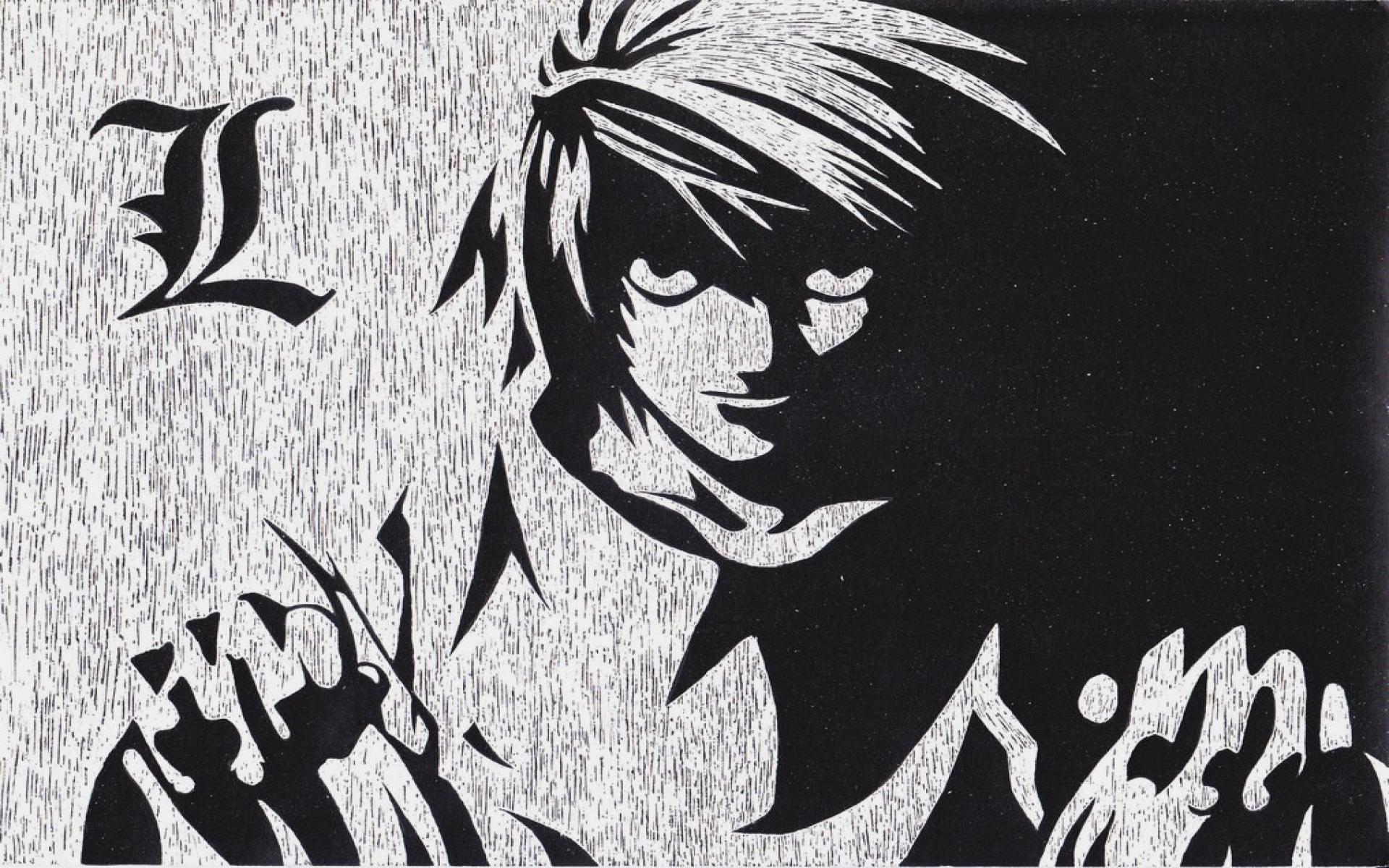 Cool Death Note L 2287629 Hd Wallpaper Backgrounds Download