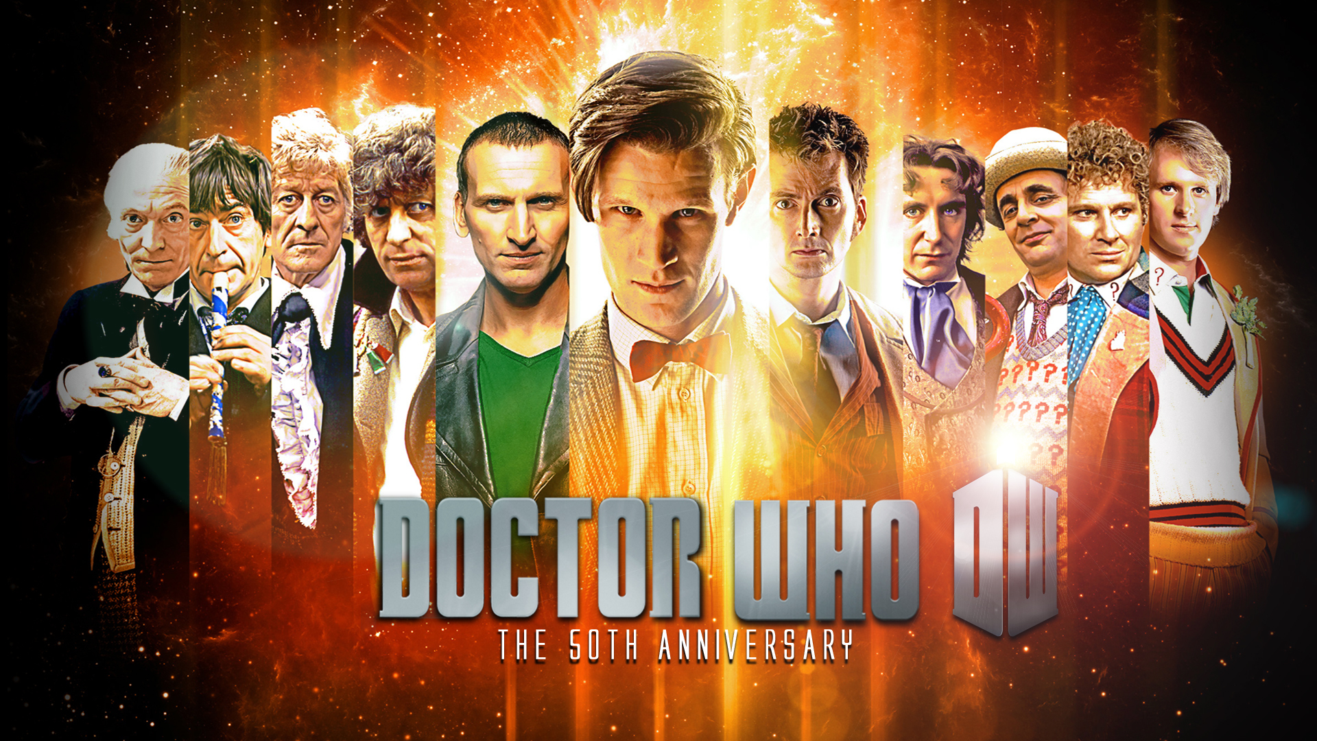 Doctor Who 11 Doctors 2289118 Hd Wallpaper Backgrounds Download