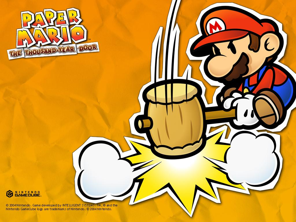 Paper Mario The Thousand Year Door 2291535 Hd Wallpaper