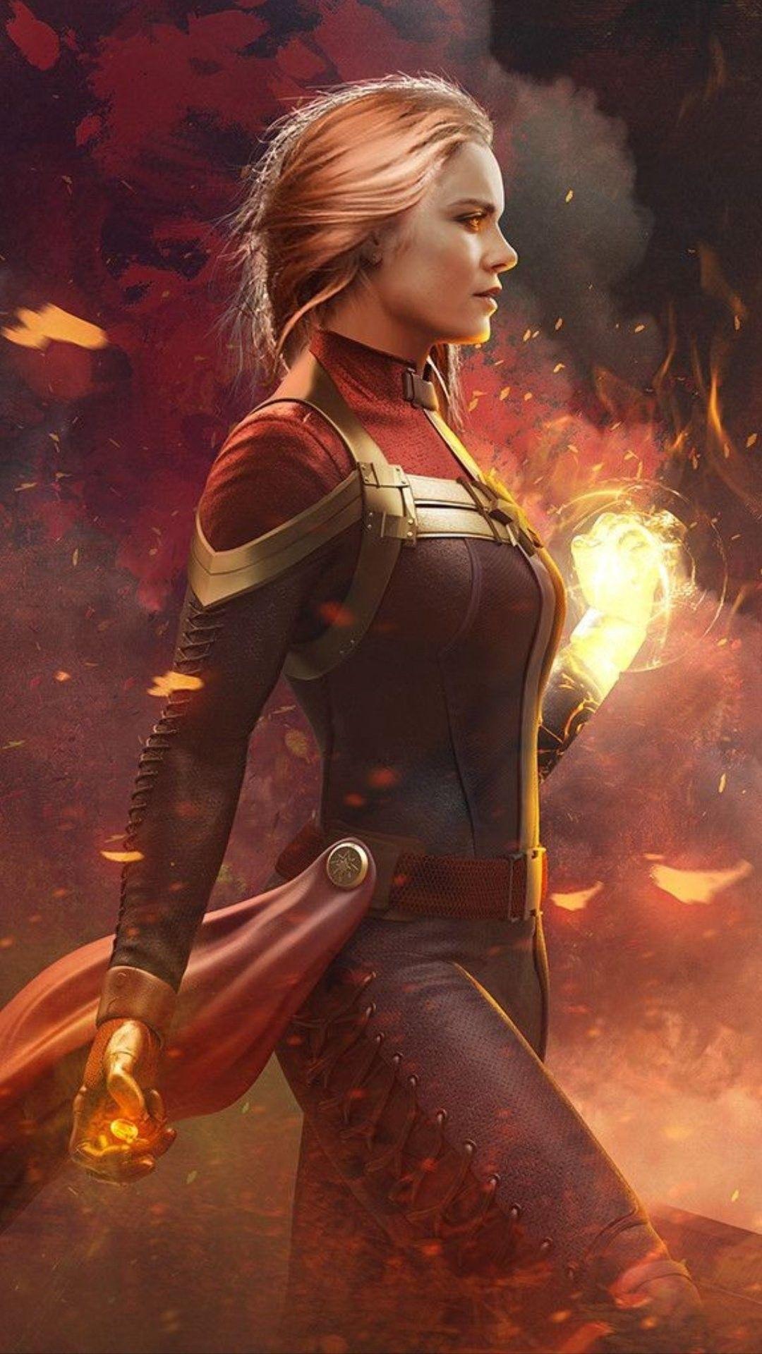 Captain Marvel Fan Art Wallpaper