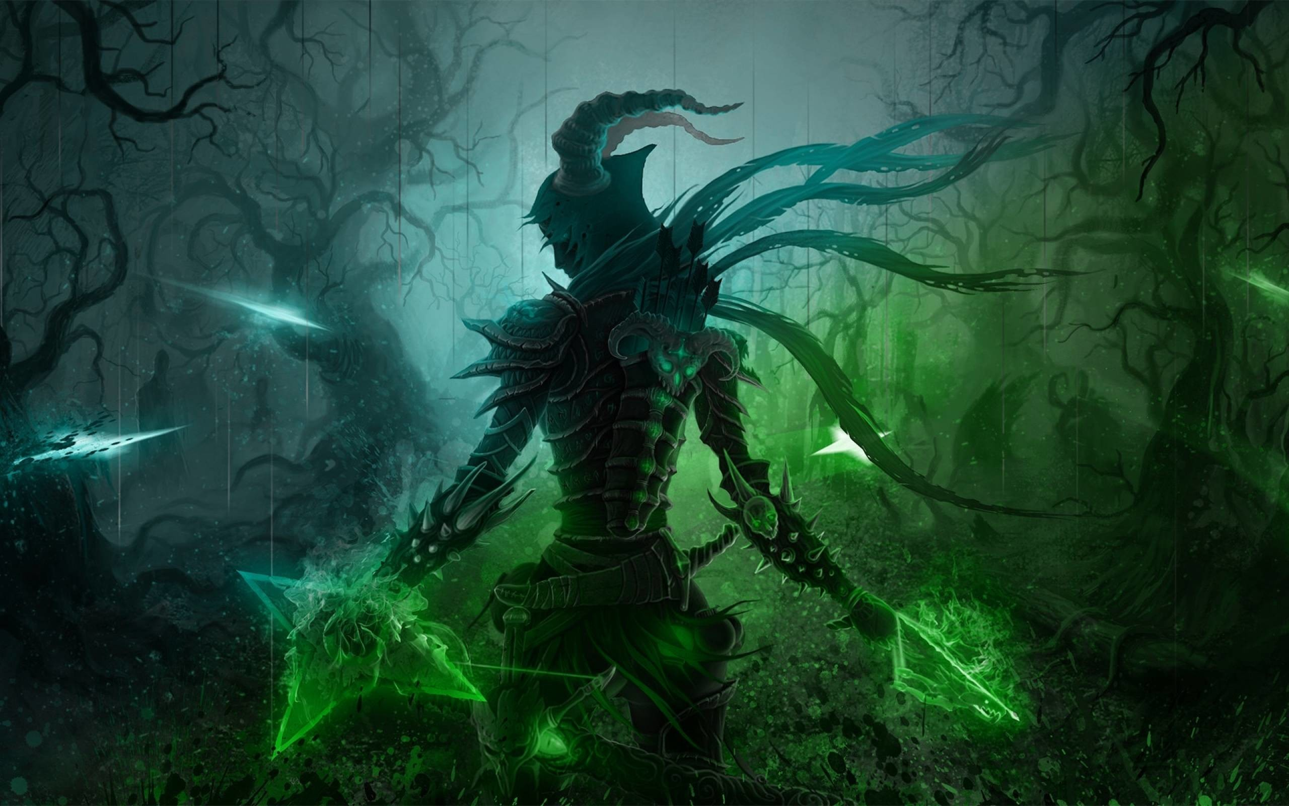 Diablo 3 Wallpaper Demon Hunter 2295182 Hd Wallpaper