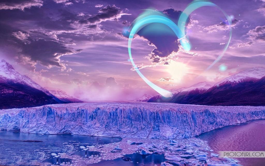 Ice Landscape Hd , HD Wallpaper & Backgrounds