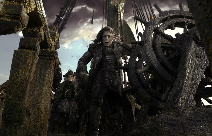 Pirates Of The Caribbean Dead Men Tell No Tales - Salazar Pirate Of The Caribbean , HD Wallpaper & Backgrounds