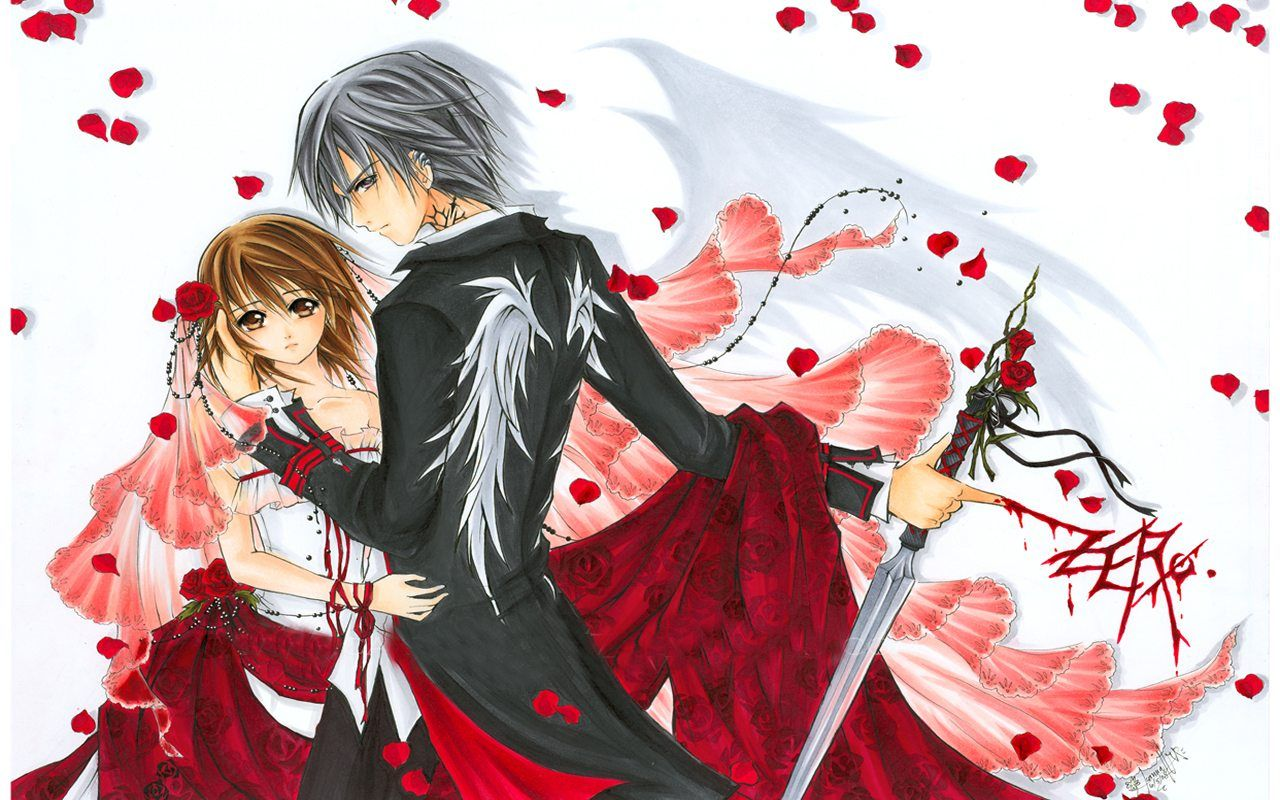 Propose Wallpaper Manga Anime Romance Vampire 231851 Hd Wallpaper Backgrounds Download