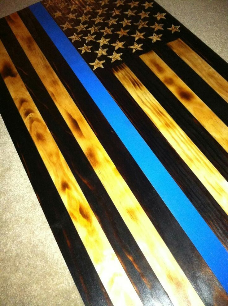 Best 25 Thin Blue Line Flag Ideas On Pinterest American - Diy Thin Blue Line Wooden Flag , HD Wallpaper & Backgrounds