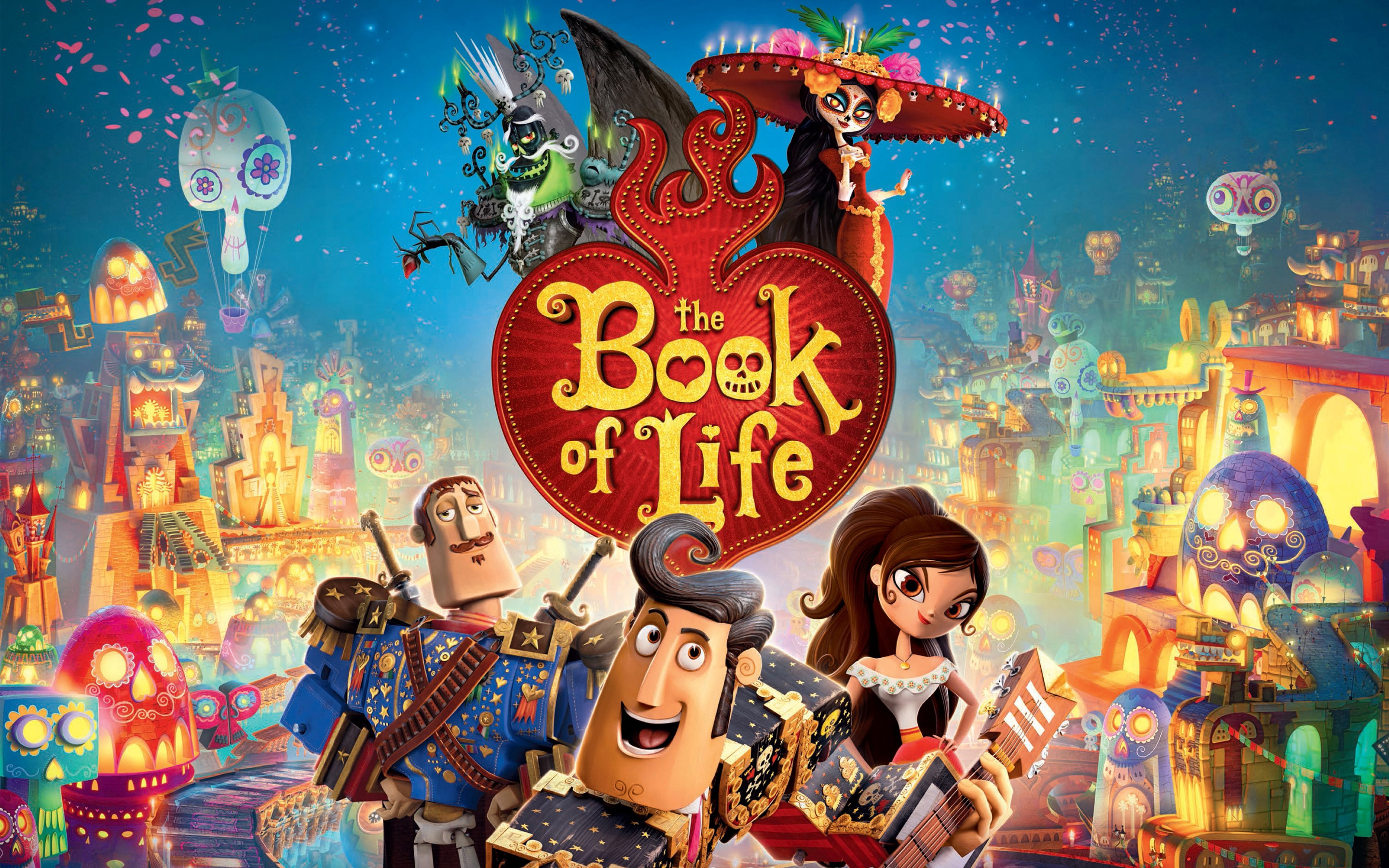 The Book Of Life Wallpaper - Book Of Live , HD Wallpaper & Backgrounds