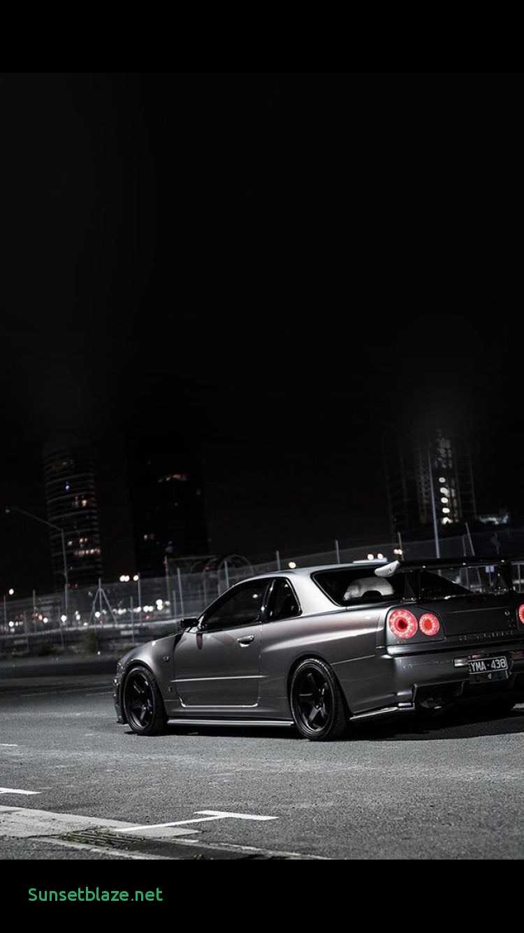 Download Wallpaper Nissan Skyline R34 Gtr Night 234819