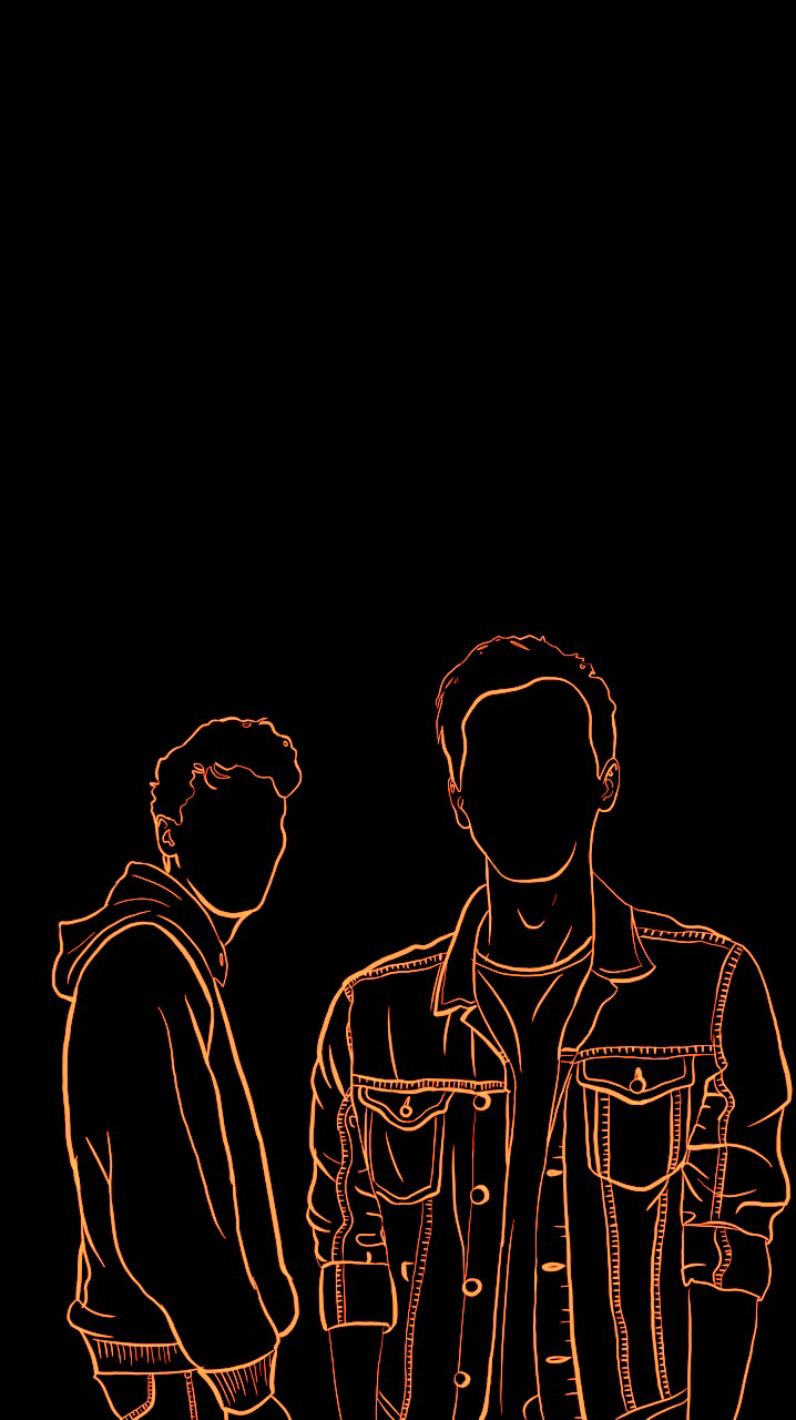 I Made Some Dan And Phil Lockscreans Hehe - Darkness , HD Wallpaper & Backgrounds