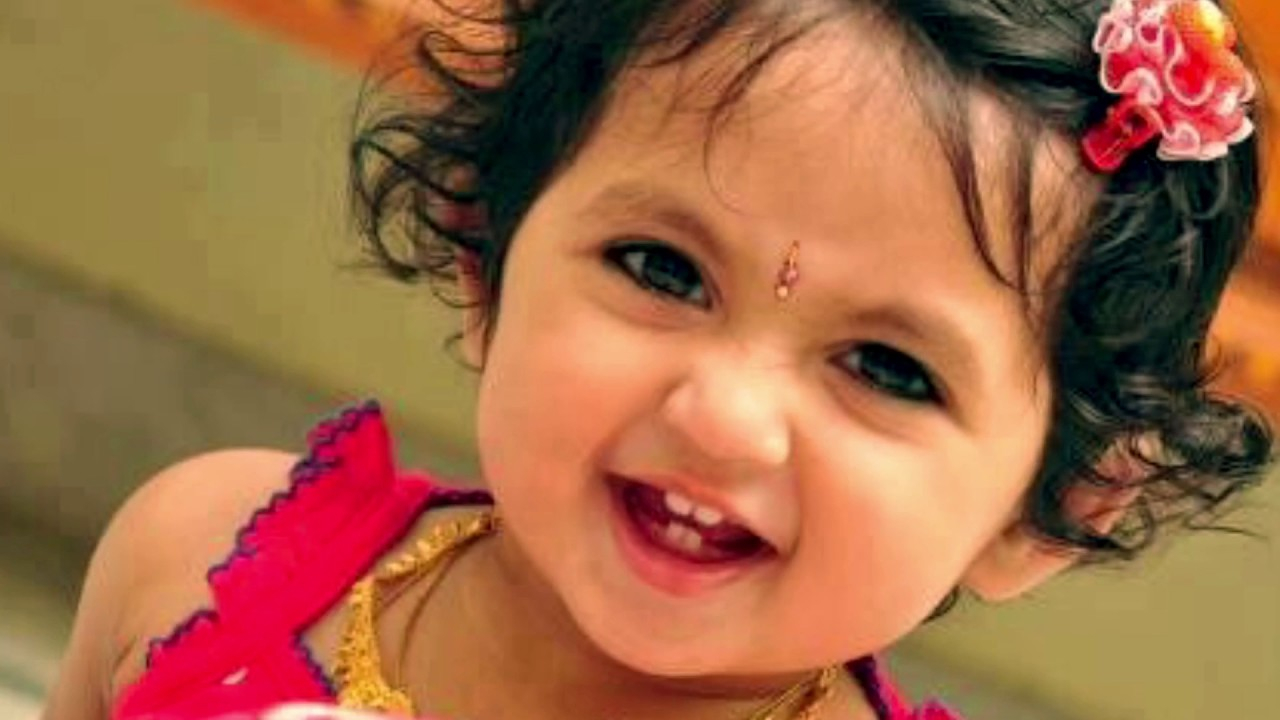 Indian Cute Baby Wallpapers - Indian Baby Girl , HD Wallpaper & Backgrounds