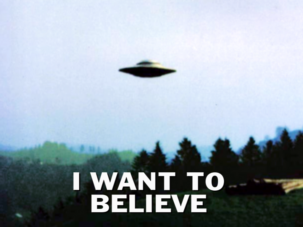X-files - Aliens I Want To Believe , HD Wallpaper & Backgrounds