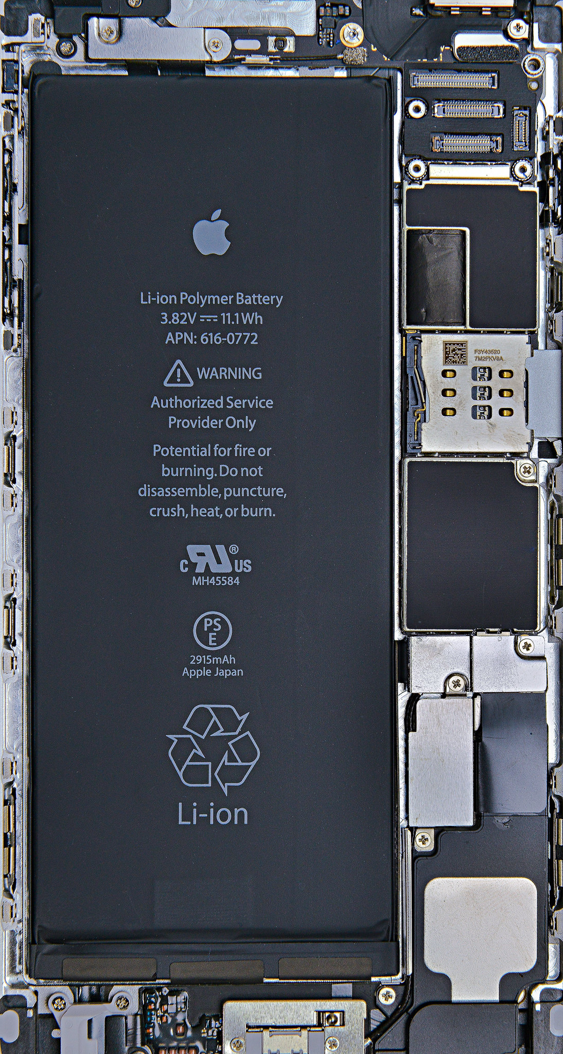 Iphone 6s And 6s Plus Xray Wallpapers Ifixit Transparent