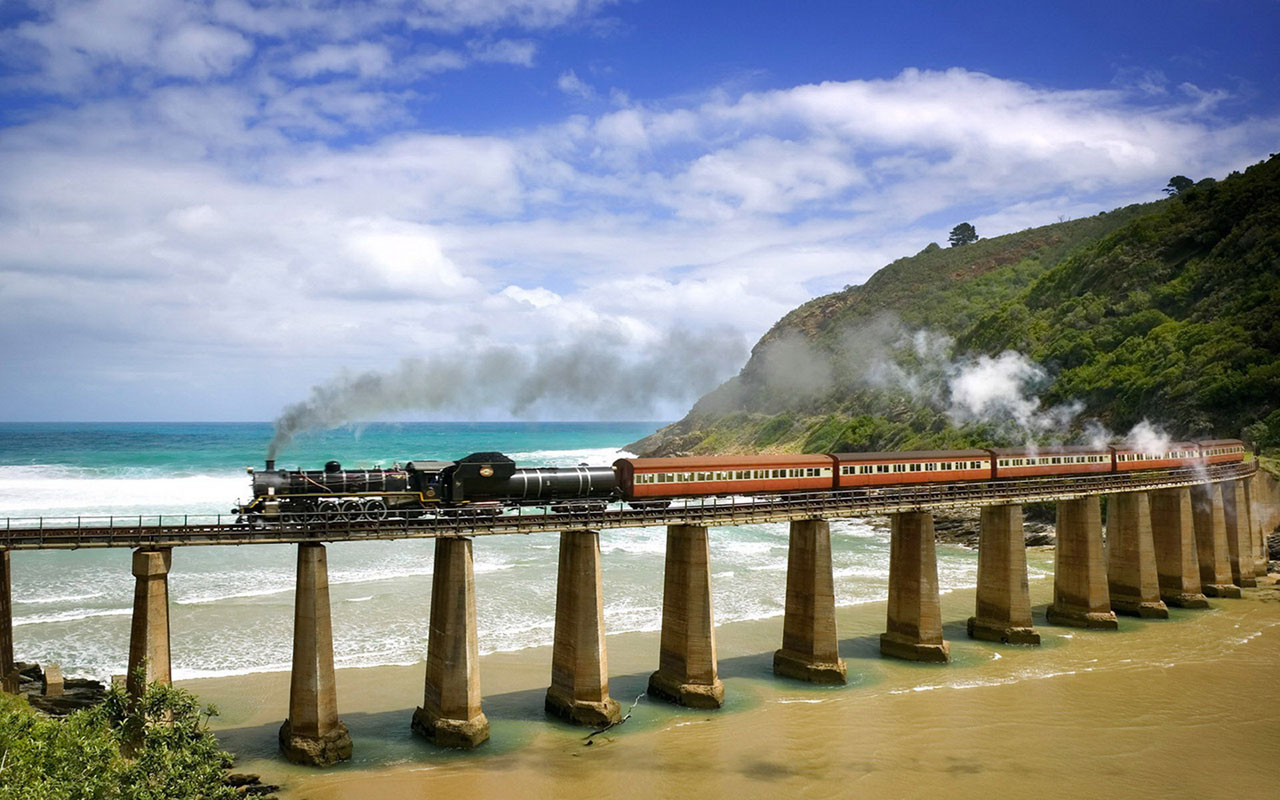 The Train Journey Beautiful Scenery Hd Wallpapers 4 - South African Wallpapers Hd , HD Wallpaper & Backgrounds