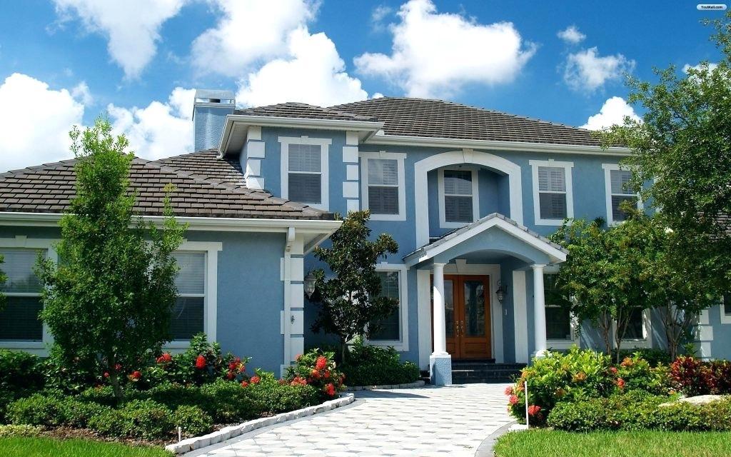 Beautiful House Wallpaper Wallpapers Dream World Most - House Backgrounds , HD Wallpaper & Backgrounds