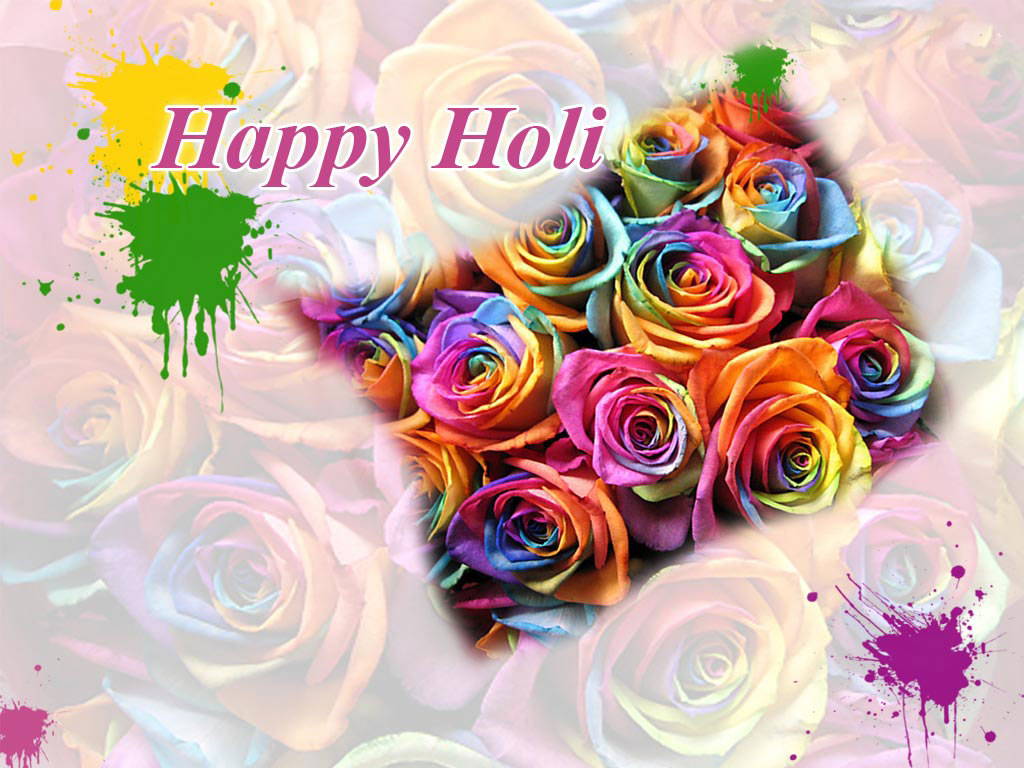Holi Wishes , HD Wallpaper & Backgrounds