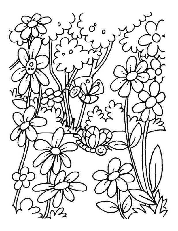 Ausmalbilder Frhling Bild Fruhling Ausmalbilderfruhling Spring