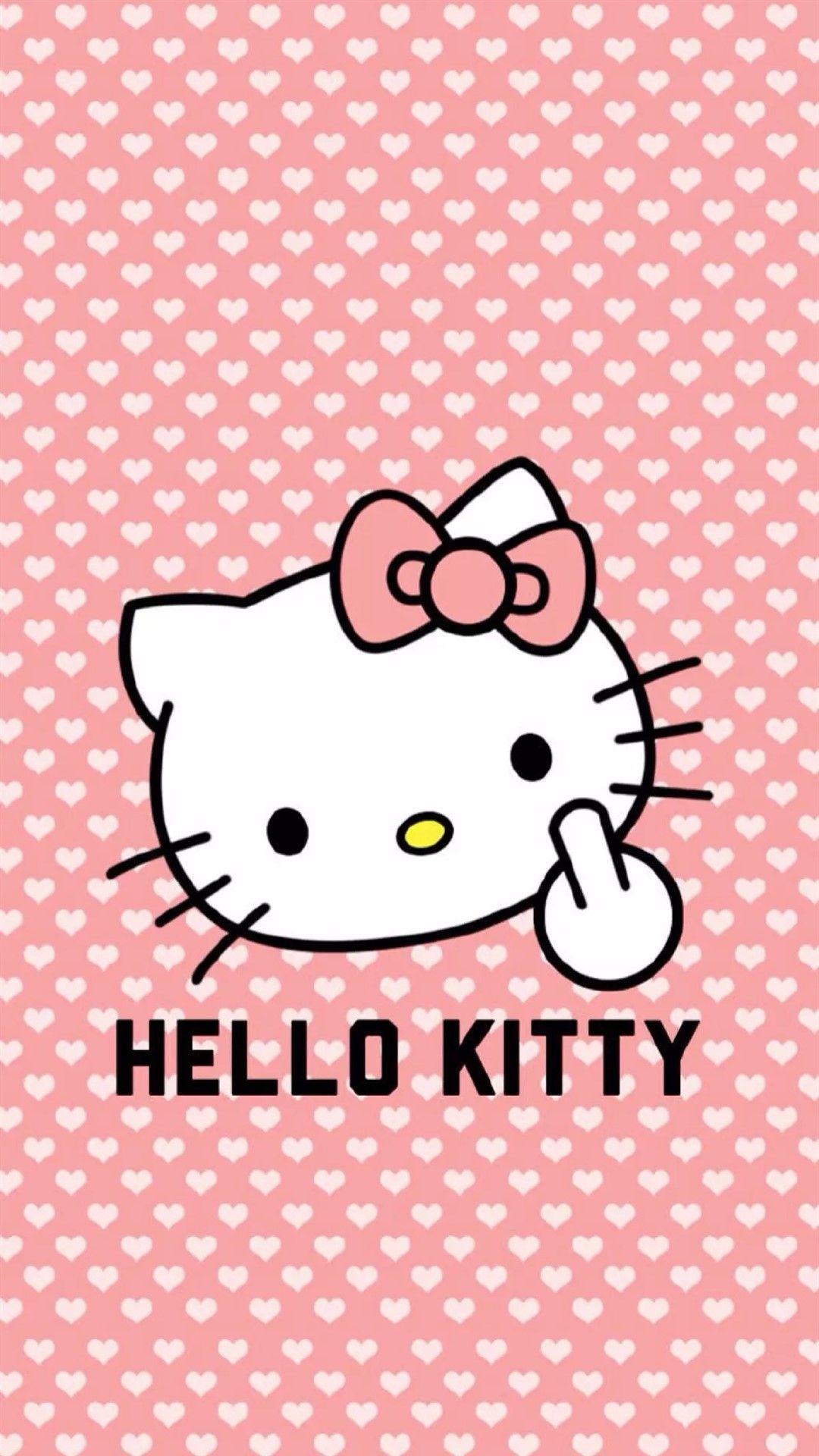 Kumpulan Wallpaper Hp Keroppi - Badass Hello Kitty (#239297) - HD