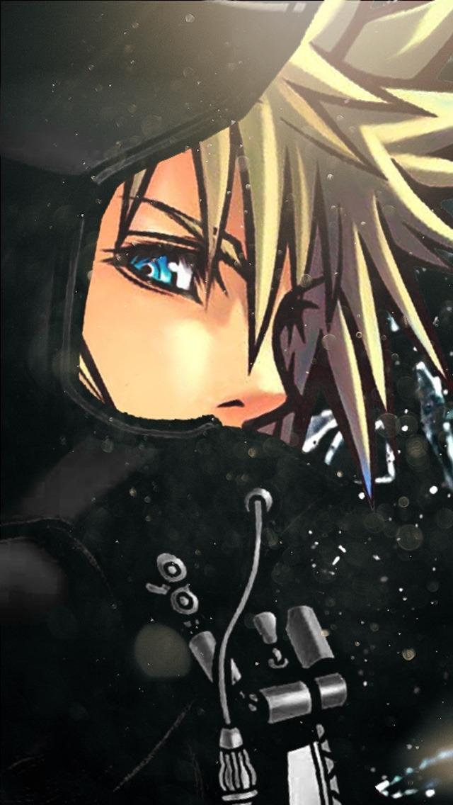 My Edit Graphics Kingdom Hearts Kh Roxas Wallpapers - Iphone Kingdom Hearts Roxas , HD Wallpaper & Backgrounds