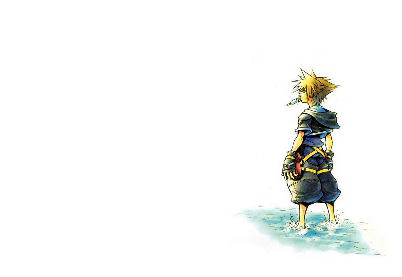 Kingdom - Kingdom Hearts Sora Art , HD Wallpaper & Backgrounds
