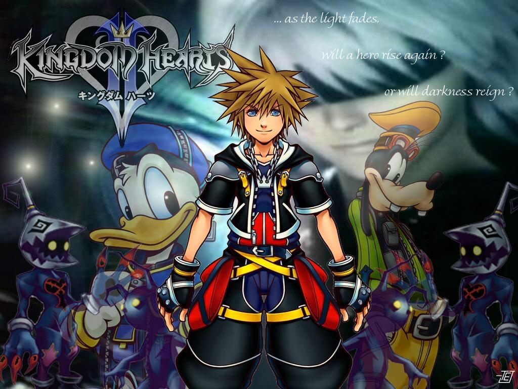 Kingdom Hearts Wallpaper For Iphone - Fondos De Pantalla De Kingdom Hearts , HD Wallpaper & Backgrounds