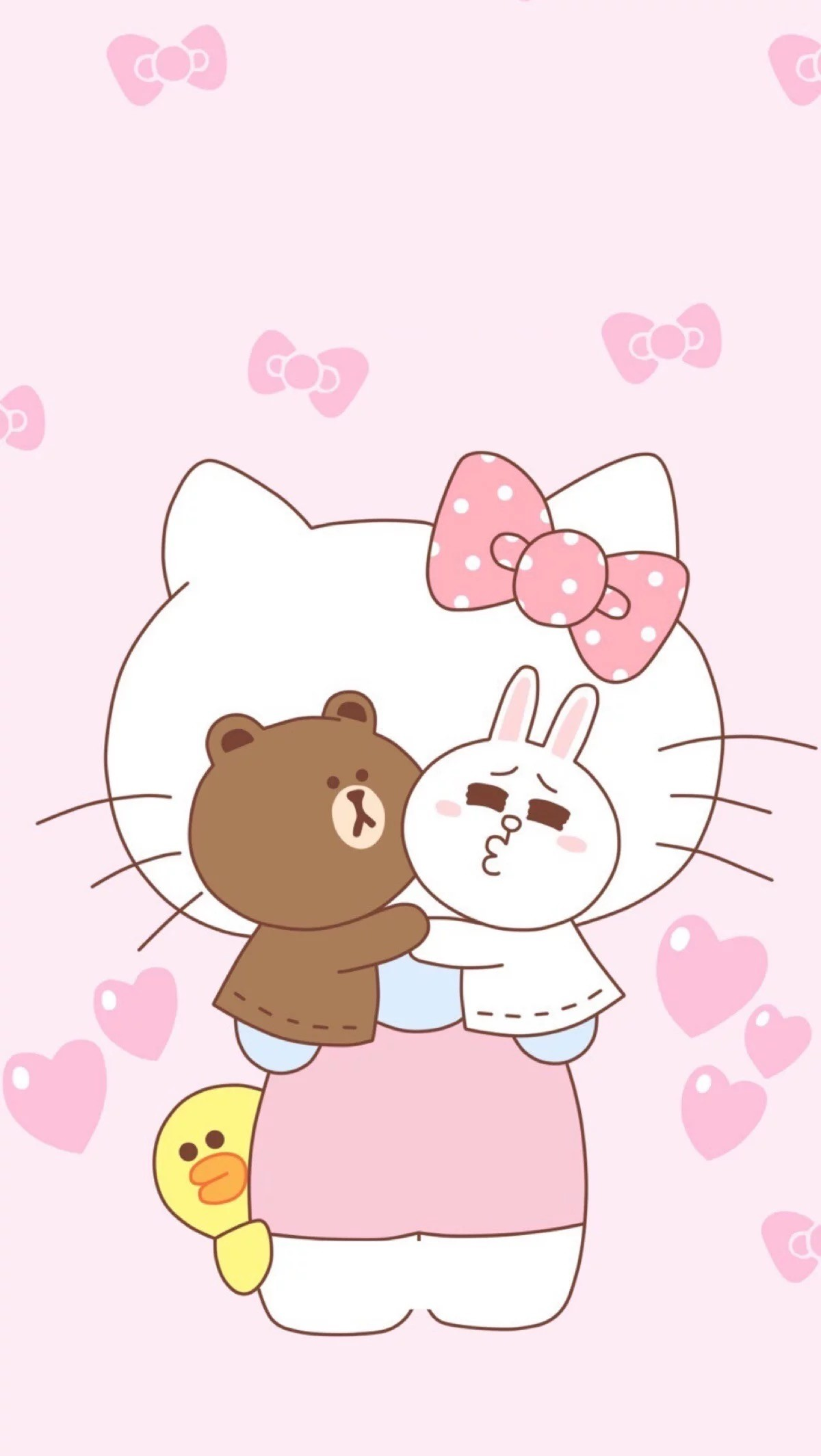 Hello Kitty Phone Wallpaper Hello Kitty Wallpaper Line