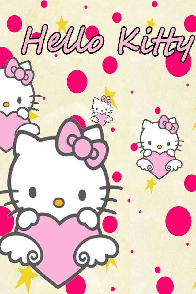 Hello Kitty Wallpaper Free Blank Printable Birthday