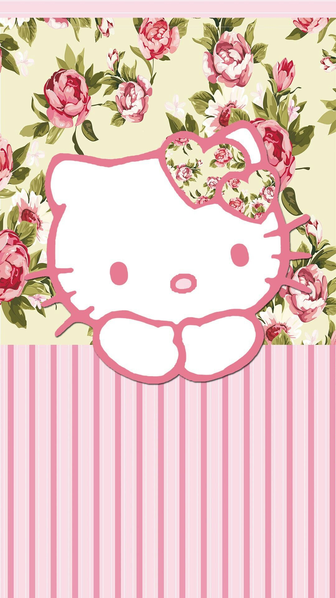 Hello - Hello Kitty Hd Wallpaper For Android Phone , HD Wallpaper & Backgrounds