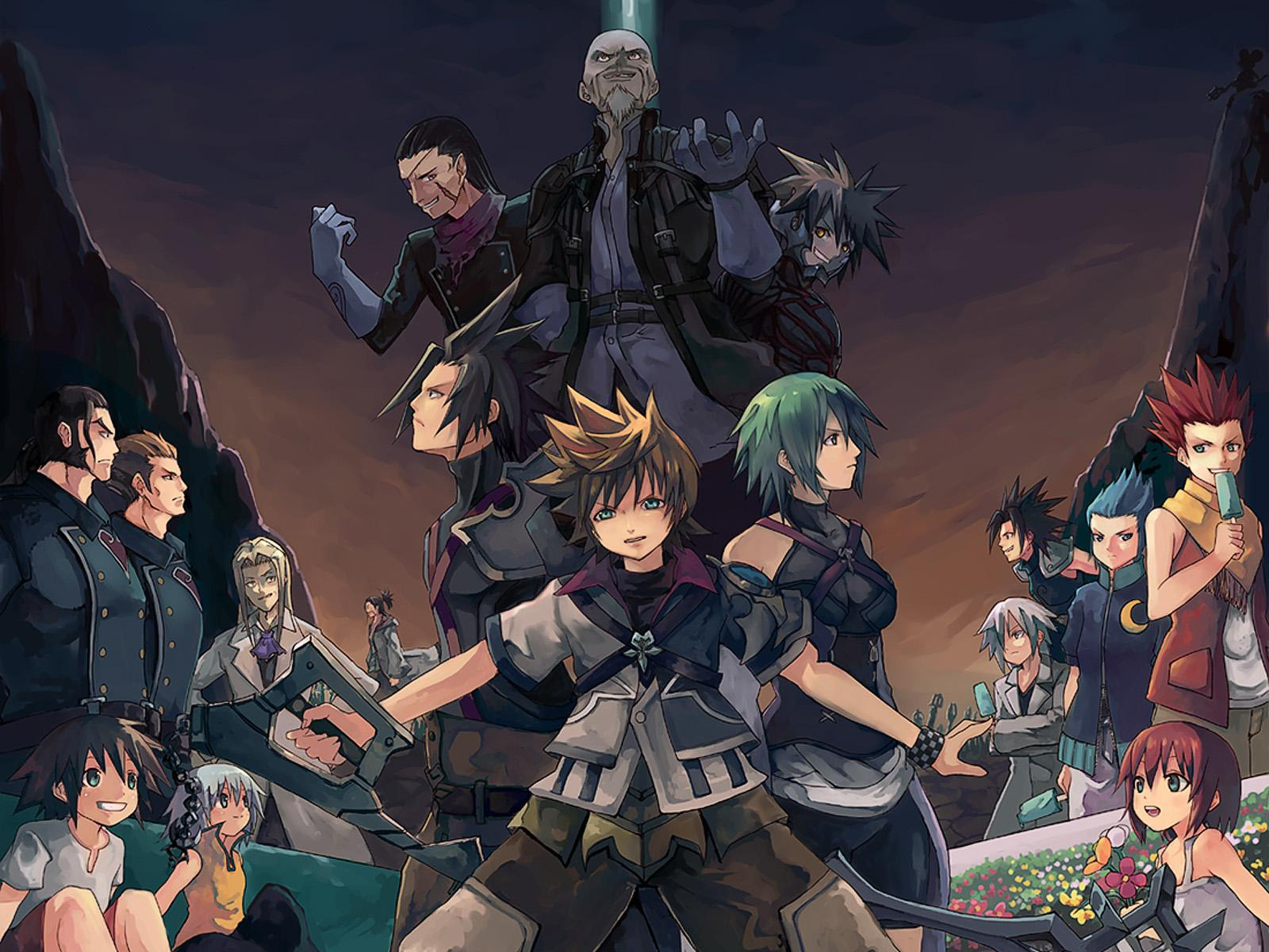 Kingdom Hearts Wallpapers For Android - Kingdom Hearts Wallpaper Anime , HD Wallpaper & Backgrounds