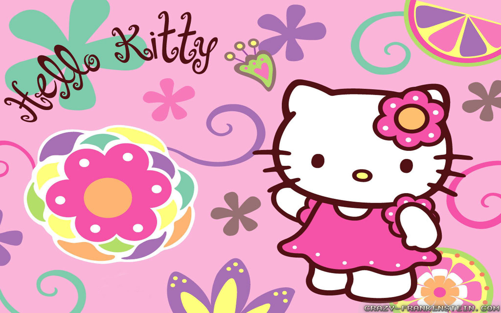 Wallpapers Cartoons Hello Kitty Desktop Wallpapers